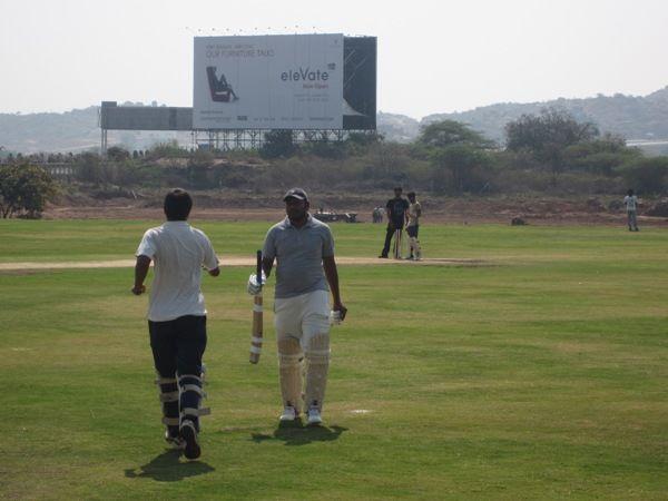 Arya Hamsa cricket grounds