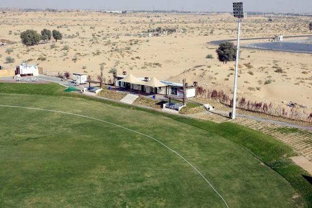 Ajman Oval. UAE.