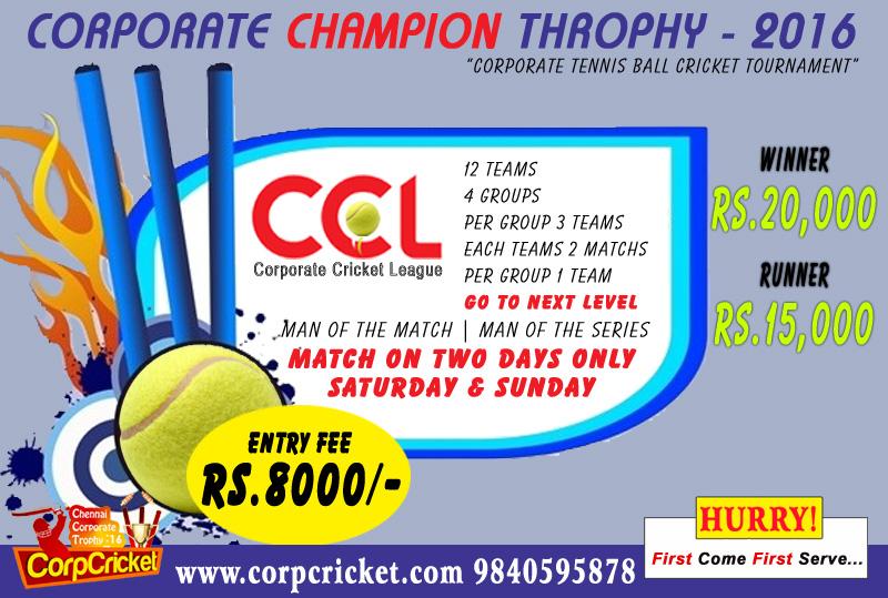 Corporate Cricket