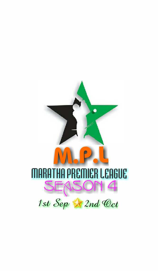 Maratha Premier League 4th ..