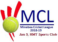 Minebea Cricket League